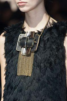 Lanvin at Paris Fashion Week Fall 2014.