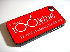 HARRY POTTER TROUBLE for iPhone 4/4s/5/5s/5c, Samsung Galaxy s3/s4 case