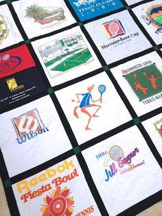 Tennis T-shirt Quilt
