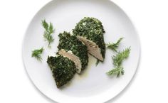 Take the Mark Bittman #MatrixChallenge and never eat boring chicken again | Herb roasted chicken breast with parsley, dill, and mint.
