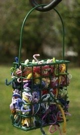 yarn clippings for birds - 160×269