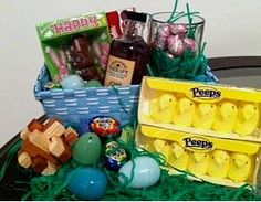 Perfect easter basket for the boyfriend screw the cheesy candy 20 easter basket for him husband giftseaster negle Images