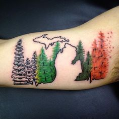 1000 ideas about michigan tattoos on pinterest lake for Best tattoo artists in michigan