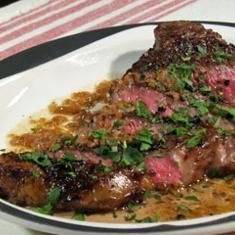 Steak Au Poivre (via www.foodily.com/r/197auvThn-steak-au-poivre-by-buddy-valastro---cake-boss)