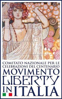 l capolavoro di Galileo Chini, quale logo per le celebrazioni del centenario di Arte Liberty, istituito nel 2008. l capolavoro di Galileo Chini, quale logo per le celebrazioni del centenario di Arte Liberty, istituito nel 2008. Villino Flora 1912 Progetto: Demetrio Petrucci (1868 - 1951) Decorazione: Galileo Chini (1873 - 1956)