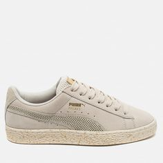 Женские кроссовки Puma x Careaux Suede Basket Whisper White