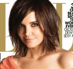 Katie Holmes hair - Click image to find more hair  beauty Pinterest pins