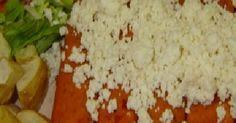 Fabulosa receta para Enchiladas norteñas. Receta  de Enchiladas norteñas. Hay bastantes varaiantes de estas enchiladas, en su origen se hacían con salsa es tomate y chile chipotle, con queso gratinado y generalmente rellenas de pollo o papa.    Esta es la única receta que he encontrado, si alguien sabe la original que nos la diga.