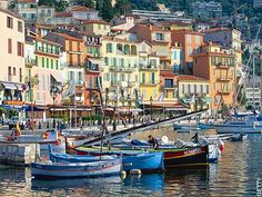 Ville Franche sur mer, next to Nice,- spent time on beach and enjoyed sangria by the water.