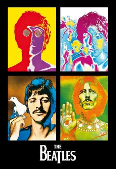 Foto Beatles, Les Beatles, Switch Plate Covers, Light Switch Plates, Hippie T Shirts, The Fab Four, Light Art, Art Music, Collage Art