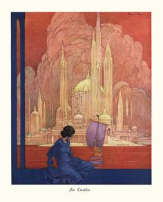 Rosebud Archives » Air Castles – Franklin Booth