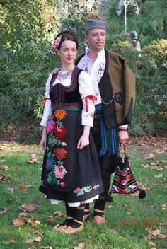 Traditional dress from Sumadija area (Central Serbia ) *festival Biserna grana , Futog