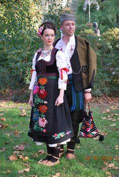 Traditional dress from Sumadija area (Central Serbia ) *festival Biserna grana , Futog