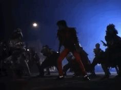 """The synchronized dance to """"Twist and Shout"""" borrows Michael Jackson's """"Thriller"""" choreography. 