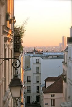 montmartre...can tell by the lampposts (and view, of course)