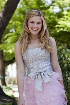 """Caroline Sunshine is known for acting alongside Kenton Duty as Tinka in the TV show Shake it Up (Well, was, it just ended). She, like Kenton, is a strong Christian. """"My faith plays a huge part. I can take all the acting/singing/dancing lessons I want, but at the end of the day, there's nothing to get me through but my faith. I think it's important that we all grow our gifts from God. That's my mission with performing. Everything I do, I do for the glory of God."""""""