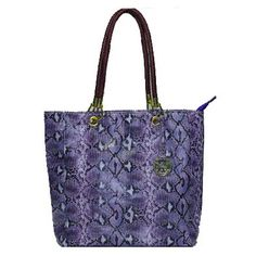 For My Holiday ,Michael Kors Tote Handbags,Michael Kors Jet Set Item Tote Handbag Purple Embossed P Sale-138