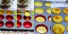 Cómo llenar capsulas de cupcakes