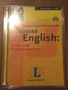 Langenscheidt Business English: Bank- und Finanzgespräche / Hörspiel Audio CD Convenience Store, Audio, Ebay, Communication, Finance, Convinience Store