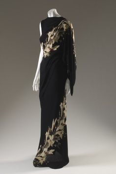 elsa schiaparelli dress fall 1935