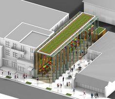 Denver Farmers Market design competition - Architizer