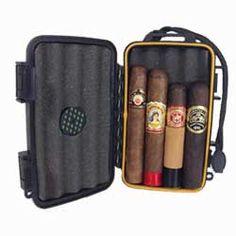 Aggressive Cohiba Cigar Case Humidor W/ Hygrometer Humidifier Cutter Ashtray Set 30 Cigars Contemporary