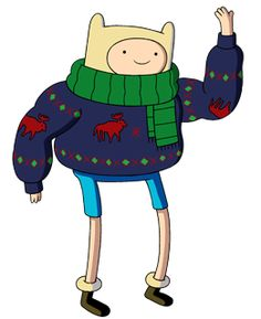 Adventure Time ugly sweater.
