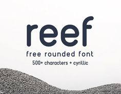 "Check out this @Behance project: ""REEF - Free Round Font"" https://www.behance.net/gallery/26524145/REEF-Free-Round-Font"