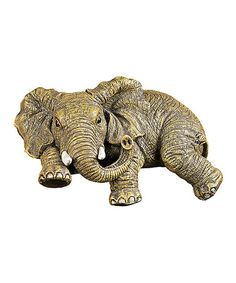 Look what I found on #zulily! Ernie the Elephant Shelf-Sitter Figurine,, $17 !!  #zulilyfinds