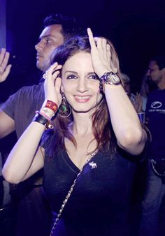 """Sussanne parties with """"good friend"""" Arjun Rampal post split with Hrithik (see pics)"""