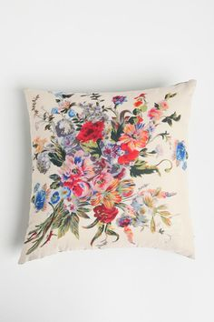 floral scarf pillow $39