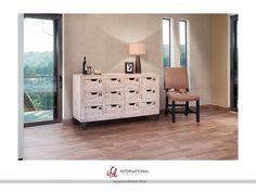 Artisan Home Multi-drawer Console with Twelve numbered drawers IFD965CONS12-W