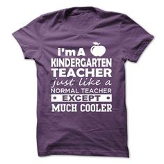 I'M A KINDERGARTEN TEACHER T-Shirts, Hoodies, Sweatshirts, Tee Shirts (19$ ==> Shopping Now!)