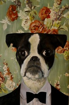 Splendid Beast art reproduction from own pet!