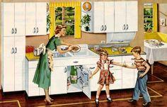 Suburban Kitchen - 1949