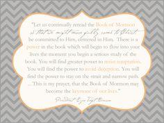Book of Mormon Keystone Benson