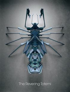 Fictitious Insects Illustrations-7