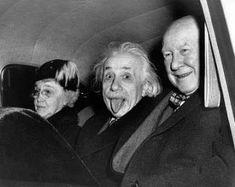 Mais pourquoi Einstein tire-t-il la langue ?