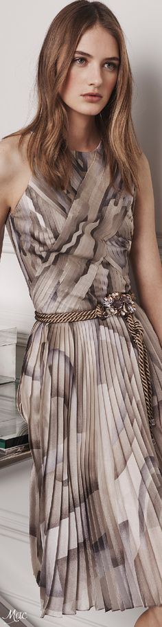 Pre-Fall 2016 Ralph Lauren women fashion outfit clothing style apparel @roressclothes closet ideas