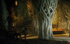 Rest chamber from Elvenking Thranduil.