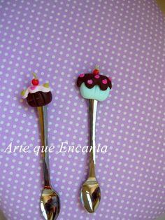 Colheres cupcakes. Acima de 40 unidades desconto de 10% R$0,90