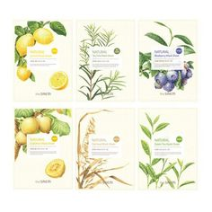 Листовая маска The Saem Natural Mask Sheet Organic Packaging, Vintage Packaging, Tea Packaging, Beverage Packaging, Brand Packaging, Skincare Packaging, Cosmetic Packaging, Medicine Packaging, Cosmetic Design