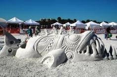 Can't wait for this year's Siesta Key Crystal Classic Master Sand Sculpting Competition... Nov 6-9.