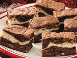 Recipe to use up swiss miss hot cocoa powder - Cream Cheese Brownies