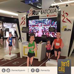 RunAnatolia, #Terracity kayıt noktasından kaydınızı yaptırabilirsiniz!  You may register #RunAnatolia at TerraCity concierge desk! 5 Mart 2016