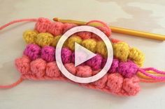 Hello everyone! Here is a video about how to make the Crochet Bobble Stitch Enjoy The Video! Source: B.hooked Crochet Ok, That