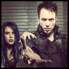 Alissa and Kamelot guy