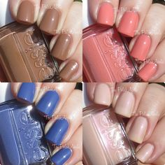 The PolishAholic: Essie Resort 2015 Collection Swatches & Review