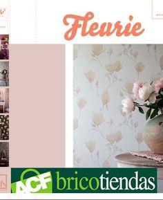 Esta colección refleja los colores suaves y maravillosos tonos propios de las flores de Magnolia. Los tonos de polvo se pueden combinar perfectamente con los patrones de rayas. Consiga un toque romántico y floral en su dormitorio con la colección Fleurie.