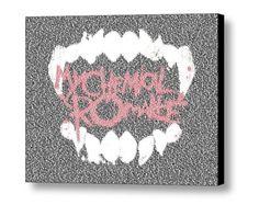 My Chemical Romance SING Lyrics Incredible Mosaic Framed Limited Edition w/COA